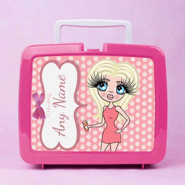 ClaireaBella Polka Dot Apple Lunch Box - Image 2