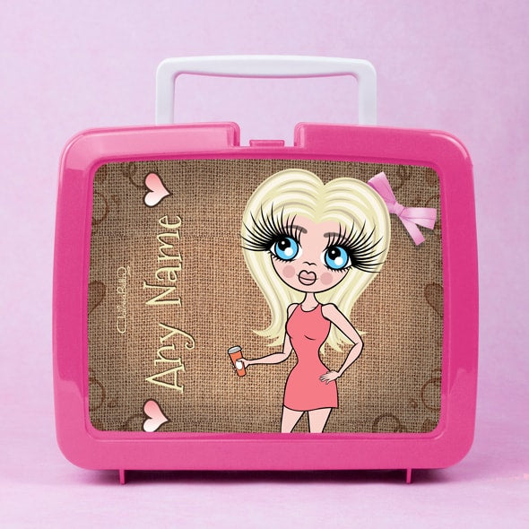 ClaireaBella Jute Lunch Box - Image 1