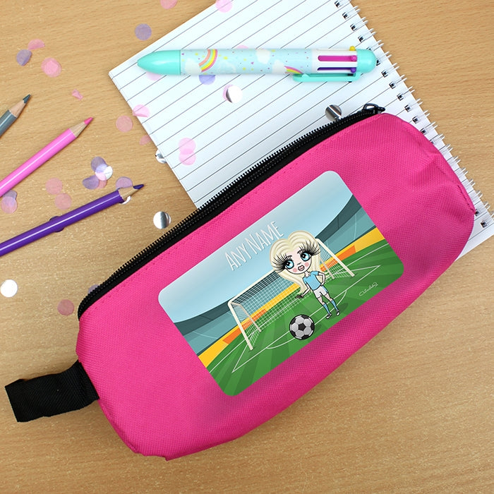 ClaireaBella Girls Football Pencil Case - Image 6