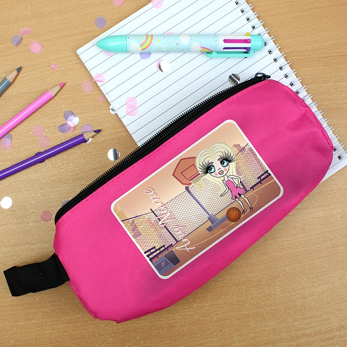 ClaireaBella Girls Netball Pencil Case - Image 1