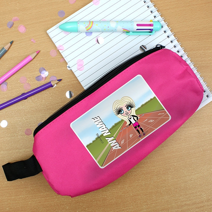 ClaireaBella Girls Running Track Pencil Case - Image 3