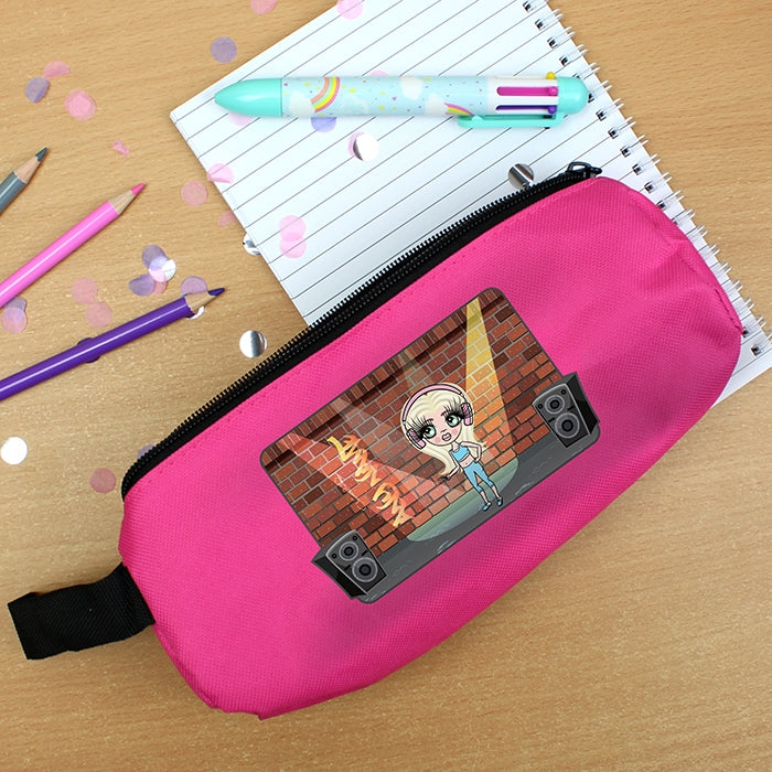 ClaireaBella Girls Street Dance Pencil Case - Image 1