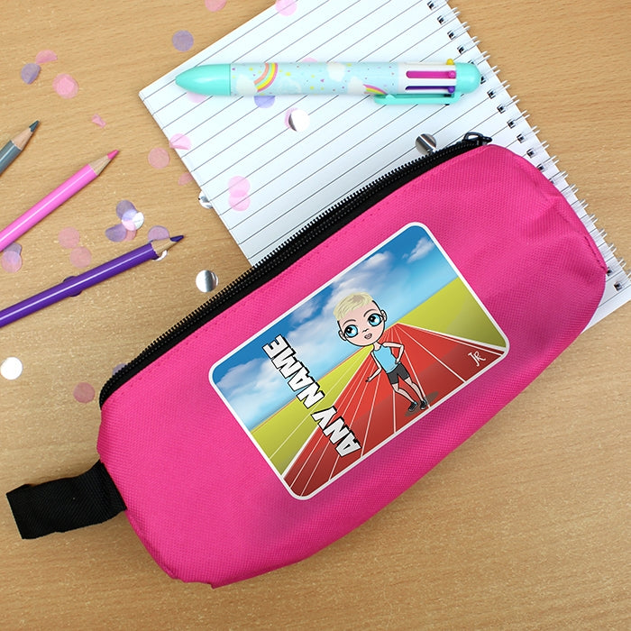 Jnr Boys Running Track Pencil Case - Image 5