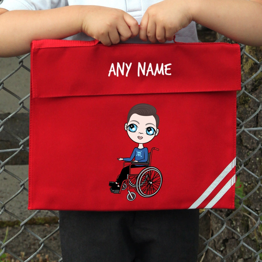 Jnr Boys Wheelchair Book Bag - Image 1