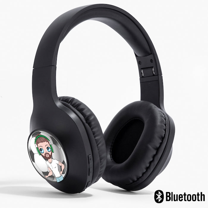 MrCB Football Personalised Wireless Headphones - Image 1