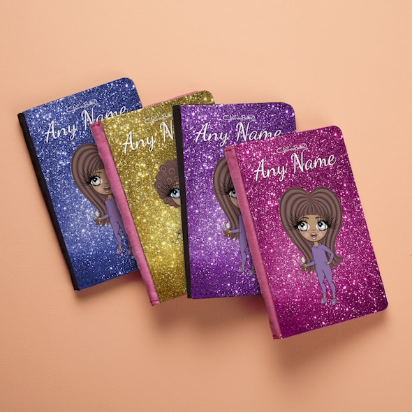 ClaireaBella Girls Glitter Passport Cover - Image 4