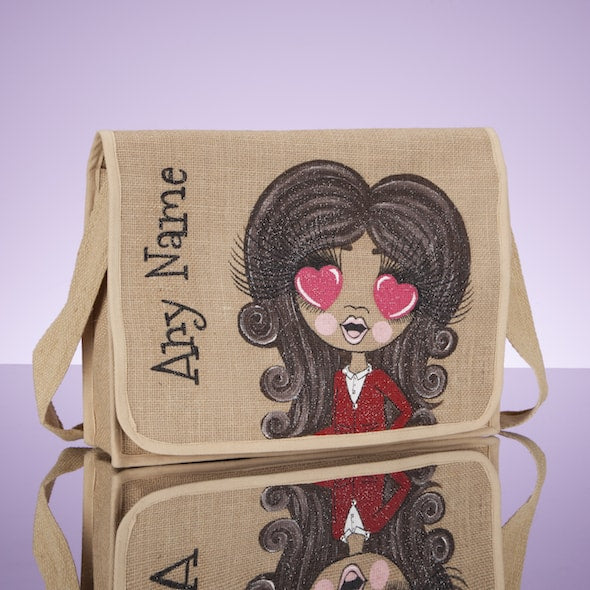 ClaireaBella Girls Jute Satchel - Image 4