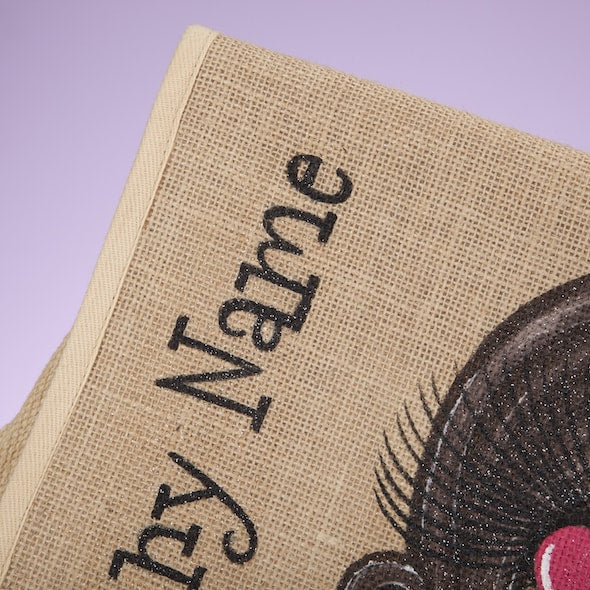 ClaireaBella Girls Jute Satchel - Image 3