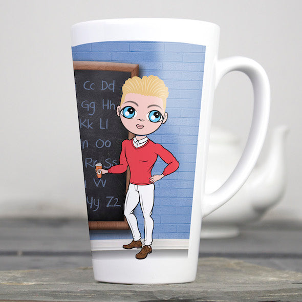MrCB Best Teacher Latte Mug - Image 1