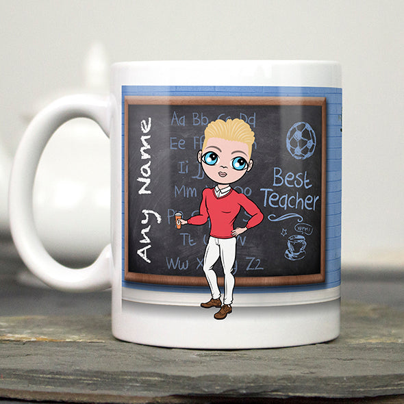 MrCB Best Teacher Mug - Image 1