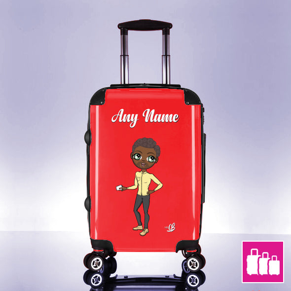 MrCB Red Suitcase - Image 1