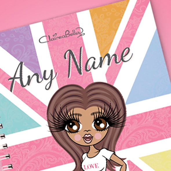 ClaireaBella Union Jack A5 Softback Notebook - Image 2