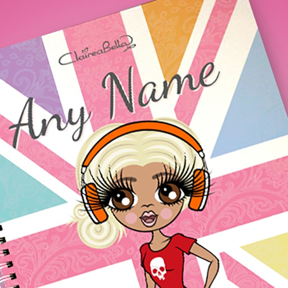 ClaireaBella Union Jack A4 Softback Notebook - Image 2