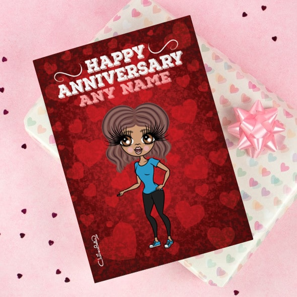 ClaireaBella Happy Anniversary Card - Image 1