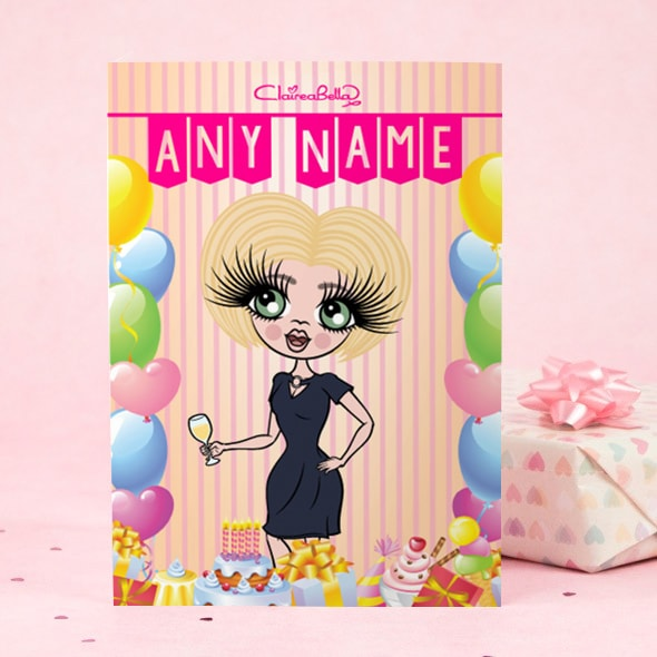 ClaireaBella Happy Birthday Card - Bunting - Image 2