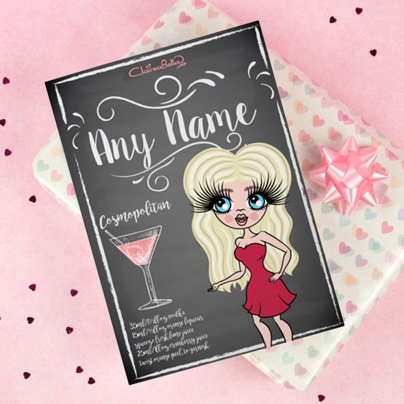 ClaireaBella Happy Birthday Card - Cocktail - Image 1