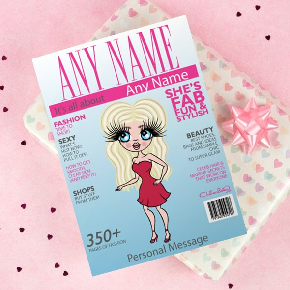 ClaireaBella Greetings Card - Cover Girl - Image 1