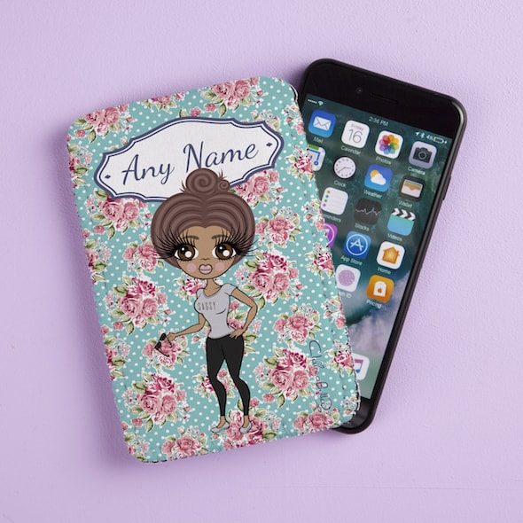 ClaireaBella Rose Fabric Phone Case - Image 1