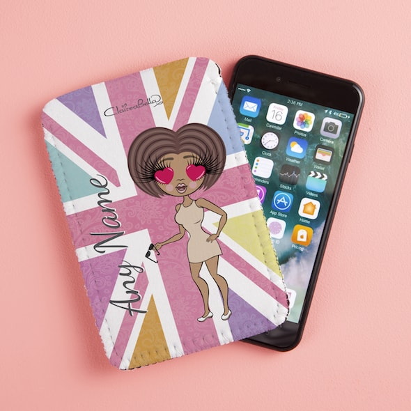 ClaireaBella Union Jack Fabric Phone Case - Image 1