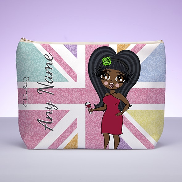 Claireabella Union Jack Wash Bag - Image 1