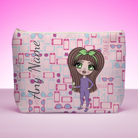 ClaireaBella Girls Selfie Wash Bag - Image 1