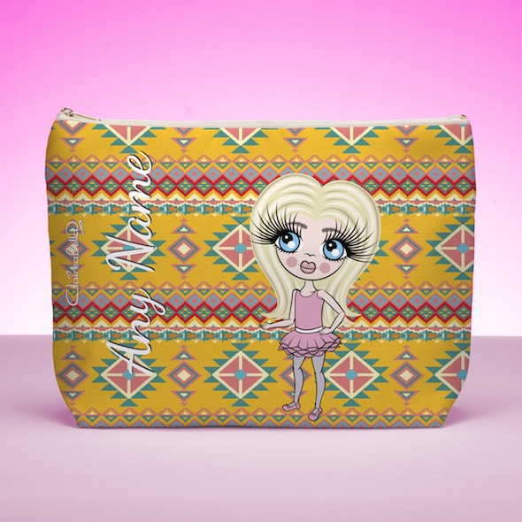 ClaireaBella Girls Aztec Print Wash bag - Image 1