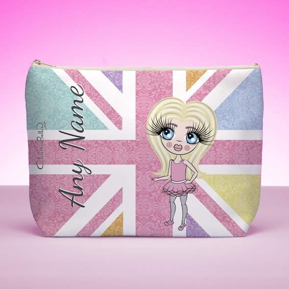 Claireabella Girls Union Jack Wash Bag - Image 1