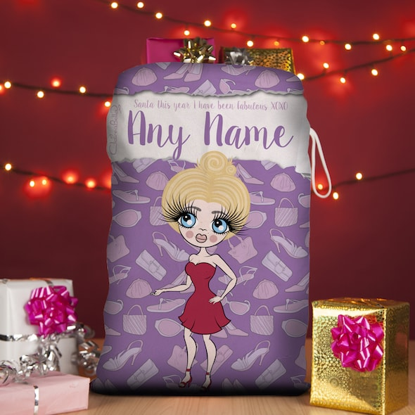 ClaireaBella Fashionista Christmas Sack - Image 1