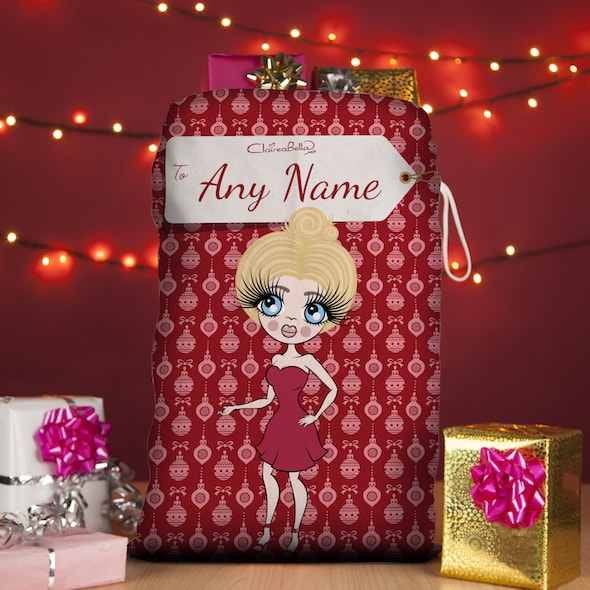 ClaireaBella Bauble Christmas Sack - Image 1