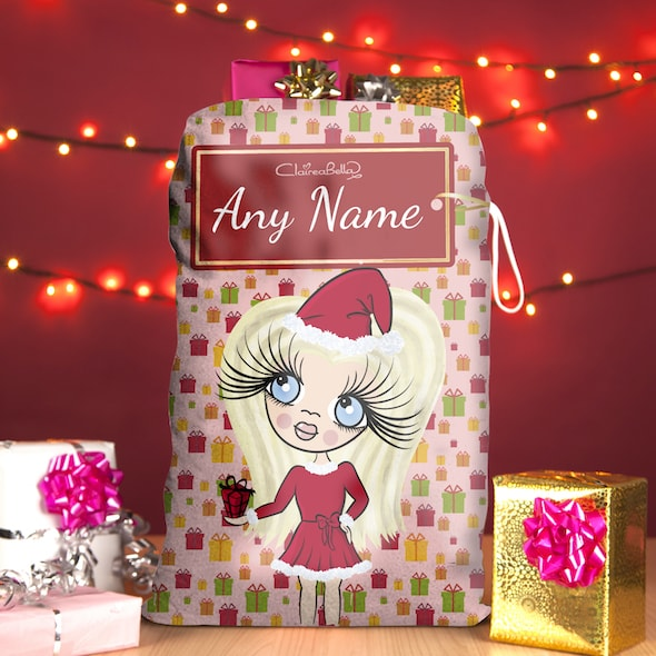 ClaireaBella Girls Presents Christmas Sack - Image 1