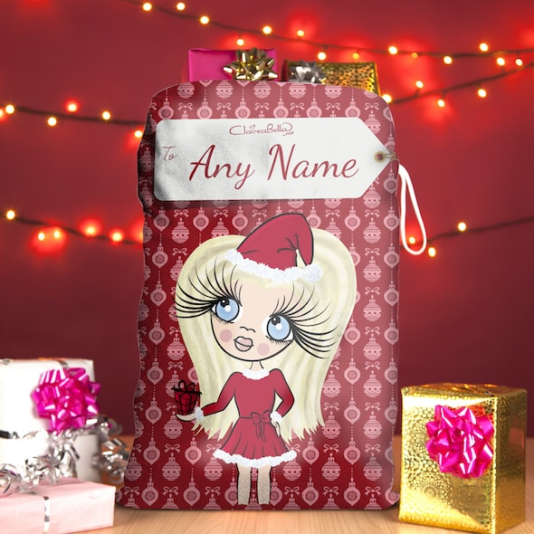 ClaireaBella Girls Bauble Christmas Sack - Image 1