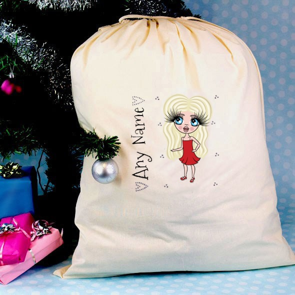 ClaireaBella Girls Christmas Sack - Image 1