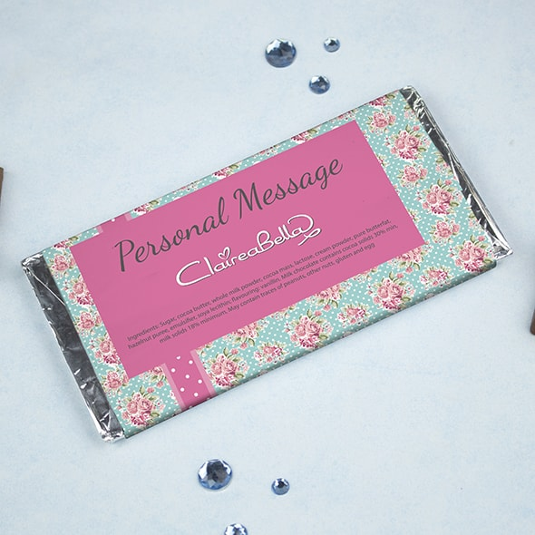 ClaireaBella Rose Chocolate Bar - Image 2