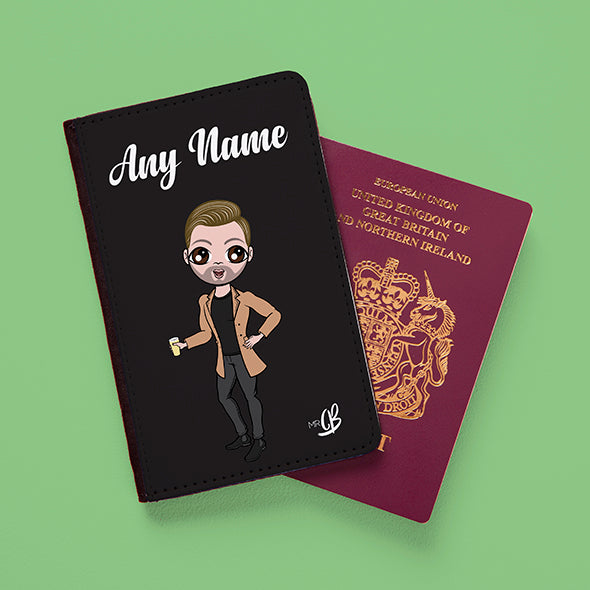 MrCB Black Passport Cover - Image 2