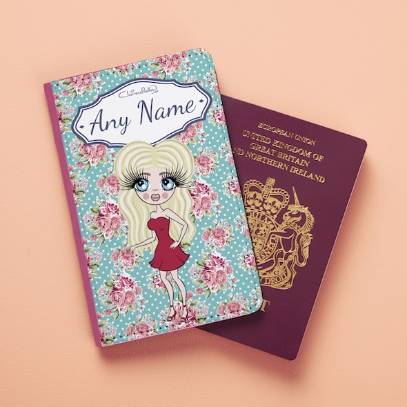 ClaireaBella Rose Passport Cover - Image 2