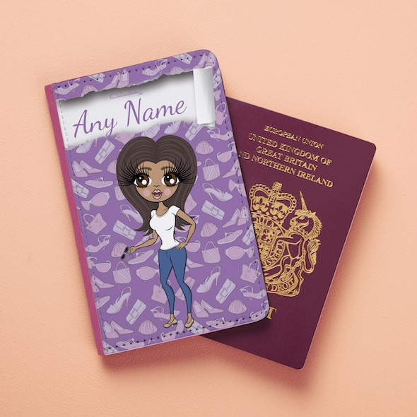 Claireabella Fashionista Passport Cover - Image 1