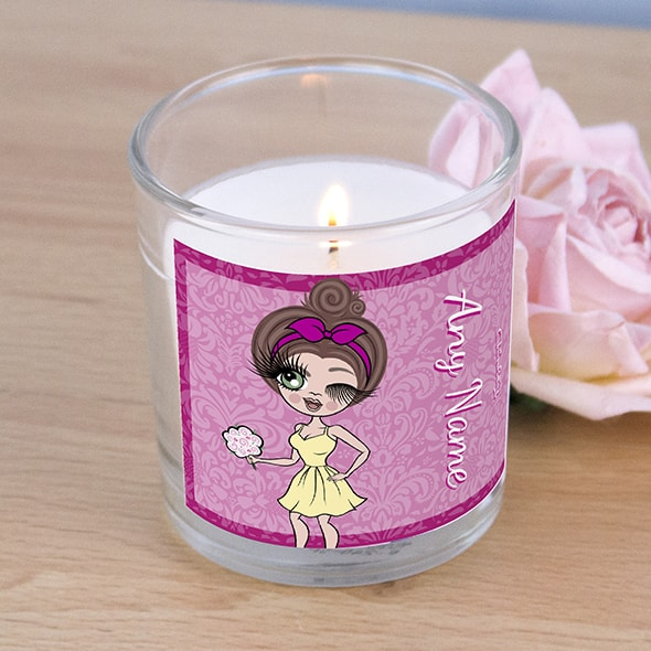 ClaireaBella Lilac Floral Scented Candle - Image 2