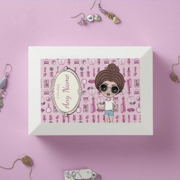 ClaireaBella Girls Beauty Essentials Jewellery Box - Image 1
