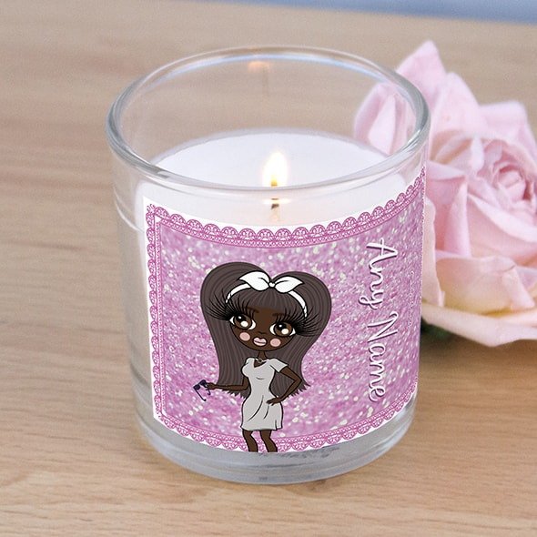 ClaireaBella Pink Glitter Scented Candle - Image 2