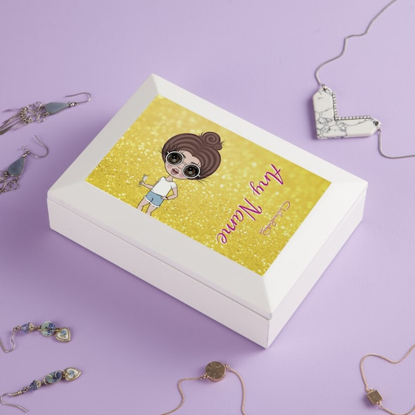 ClaireaBella Girls Sunshine Shimmer Jewellery Box - Image 2