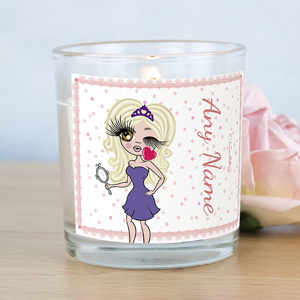 ClaireaBella Pink Confetti Scented Candle - Image 1