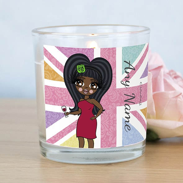 ClaireaBella Union Jack Scented Candle - Image 1