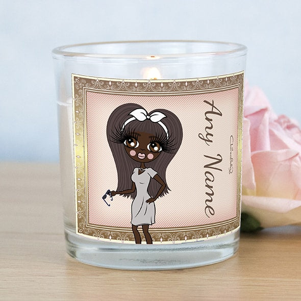 ClaireaBella Golden Vintage Scented Candle - Image 1