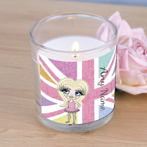 ClaireaBella Girls Union Jack Scented Candle - Image 2