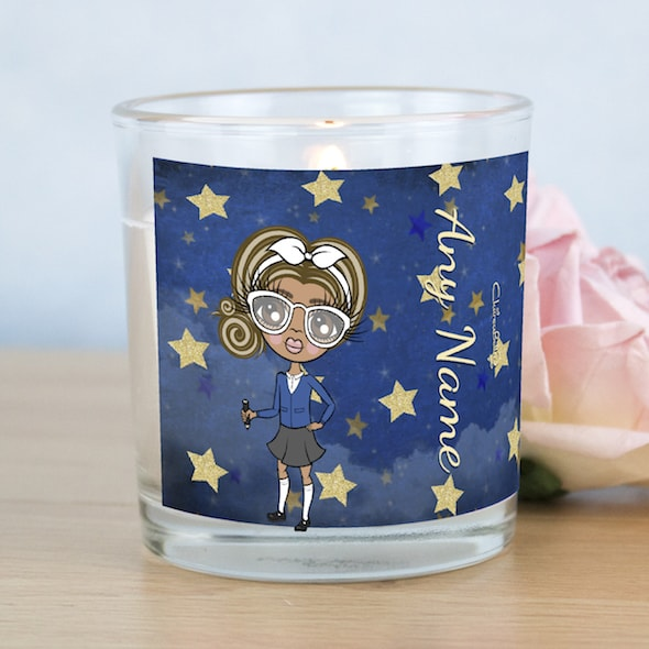 ClaireaBella Girls Starry Sky Scented Candle - Image 1