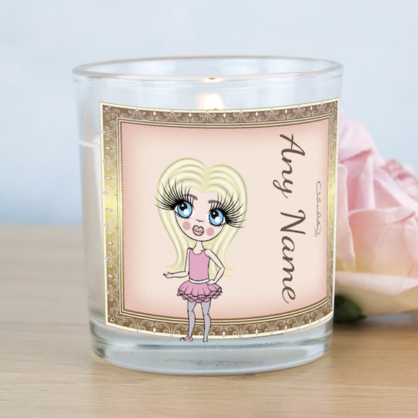 ClaireaBella Girls Golden Vintage Scented Candle - Image 1
