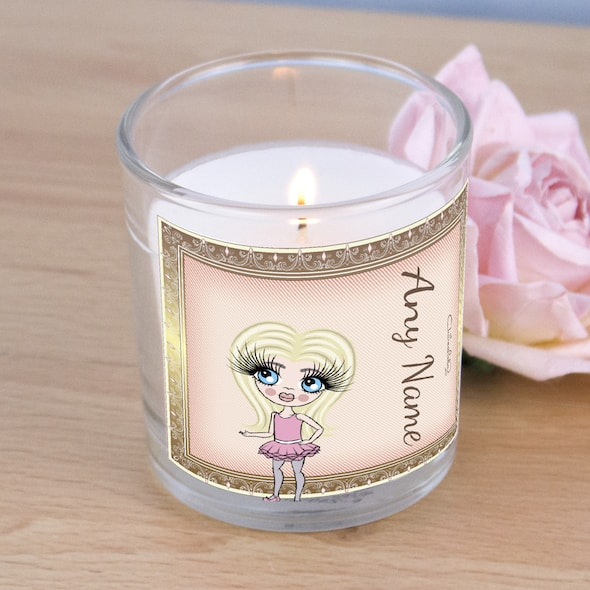 ClaireaBella Girls Golden Vintage Scented Candle - Image 2