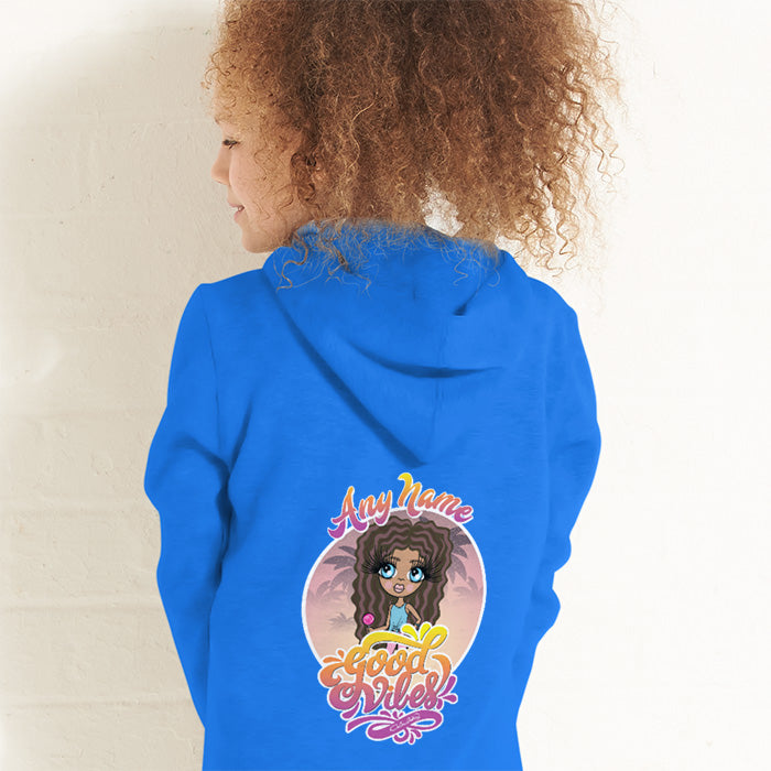 ClaireaBella Girls Good Vibes Onesie