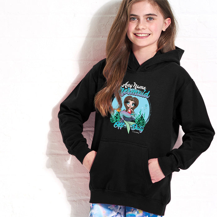 ClaireaBella Girls Mermaid Hoodie