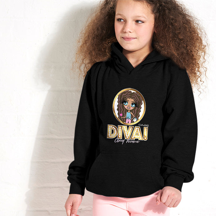ClaireaBella Girls Diva Hoodie